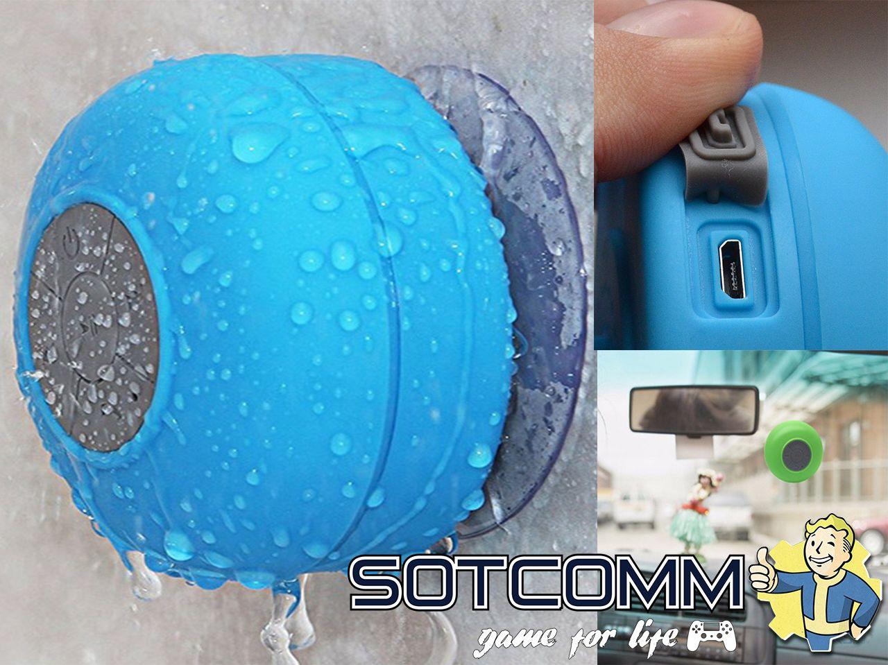 Bluetooth колонка для ванной Bath Beats BTS-06 купить в Челябинске