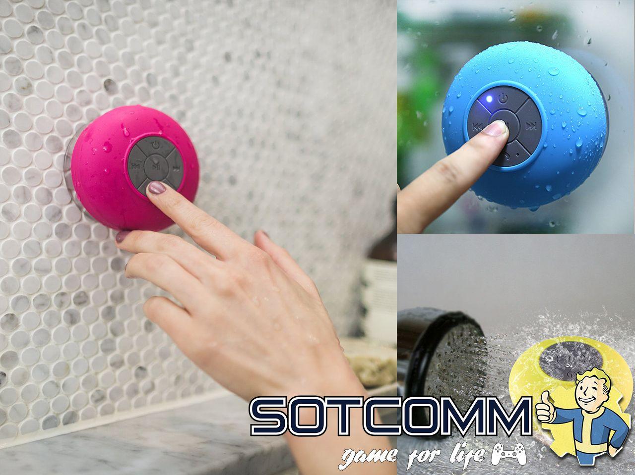 Bluetooth колонка для ванной BTS-06