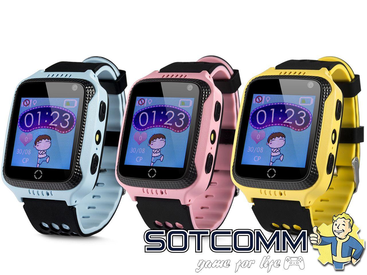 Детские умные часы с GPS Smart baby watch Q528