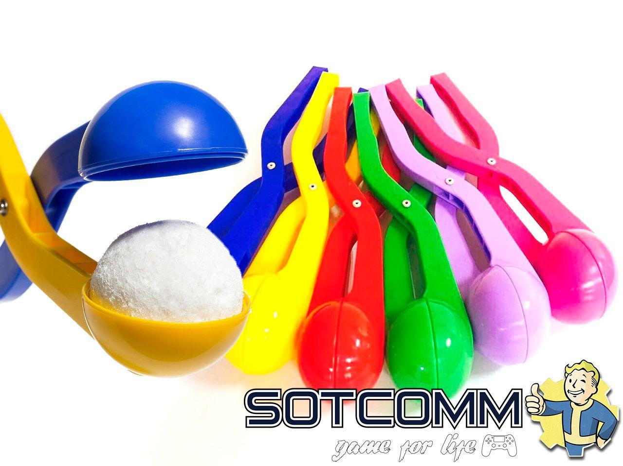 игрушка для лепки снежков