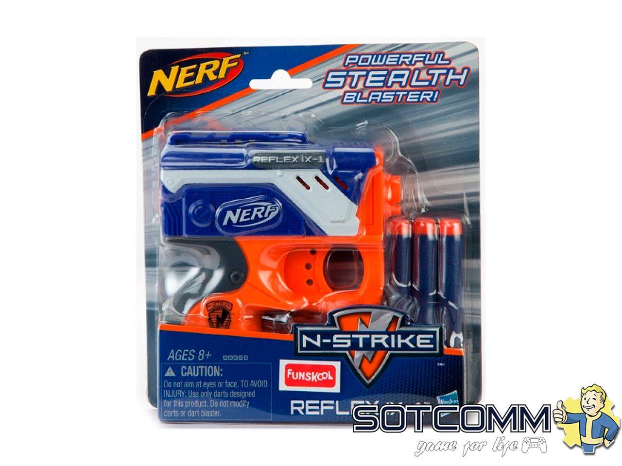 Бластер Нерф Nerf Reflex Ix-1
