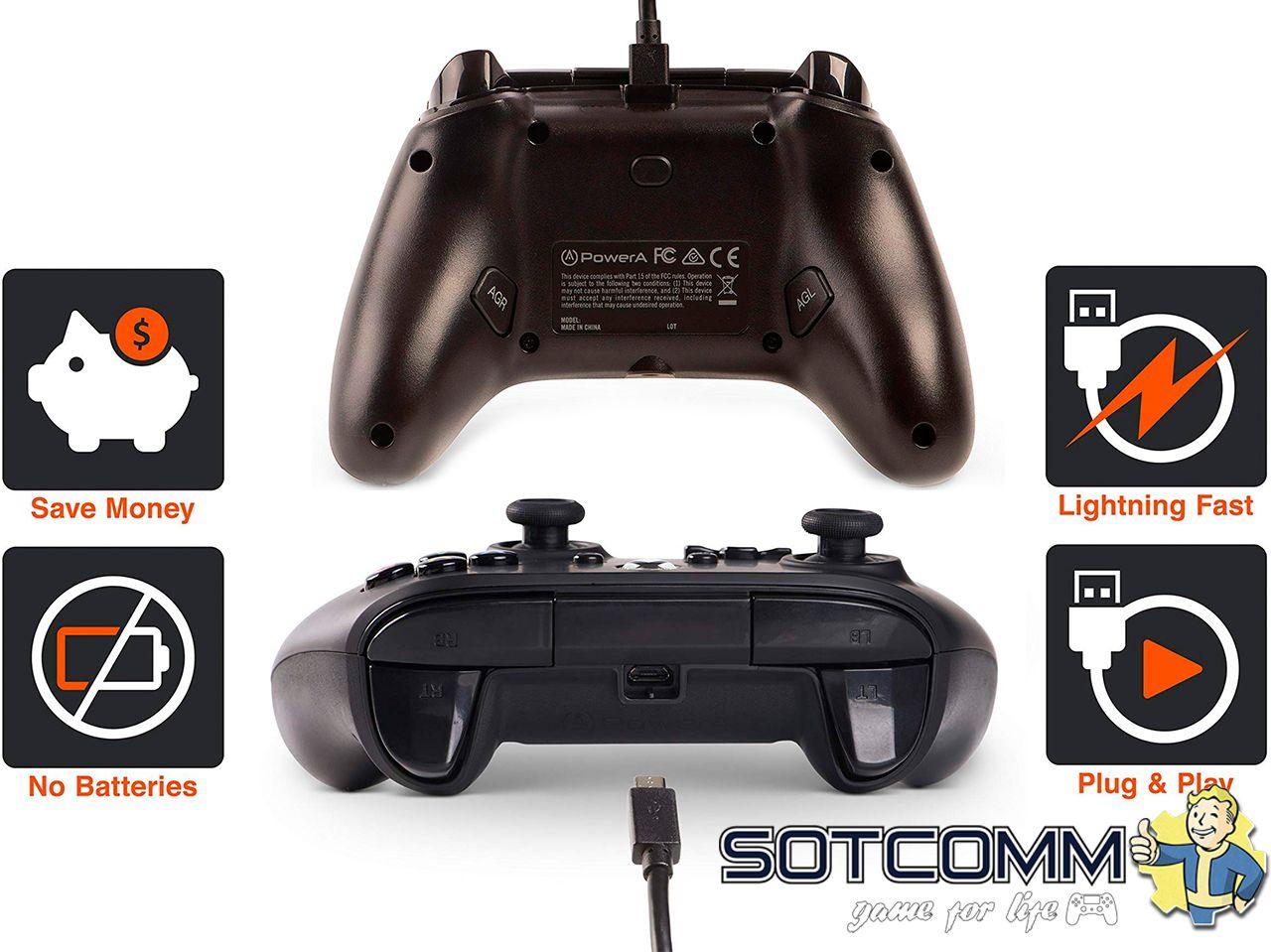Проводной геймпад Wired Controller для Xbox One