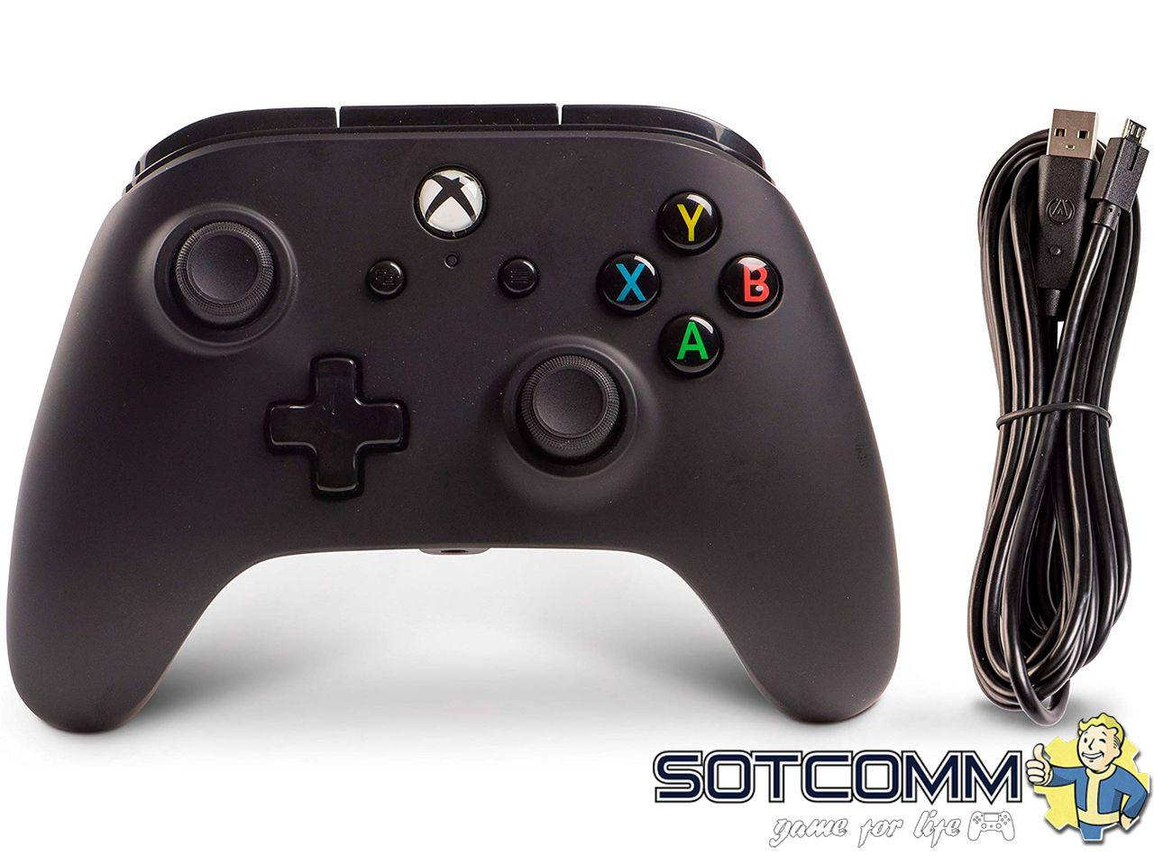 Проводной геймпад PowerA Enhanced Wired Controller для Xbox One комплектация