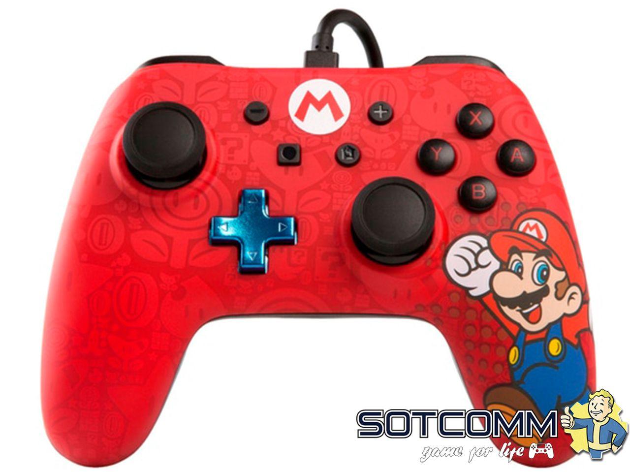 Проводной геймпад Super Mario для Nintendo Switch