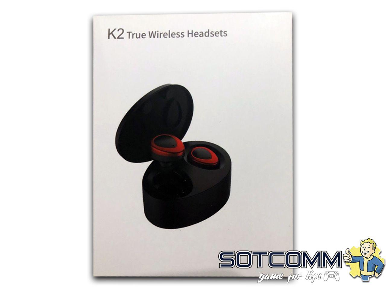 Беспроводные наушники K2 TWS