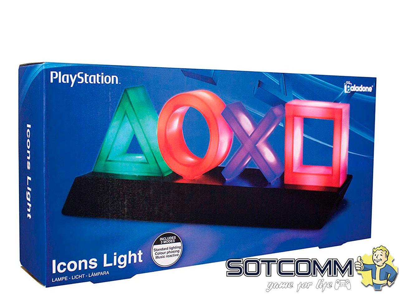 Геймерская лампа The PlayStation: Icons Light
