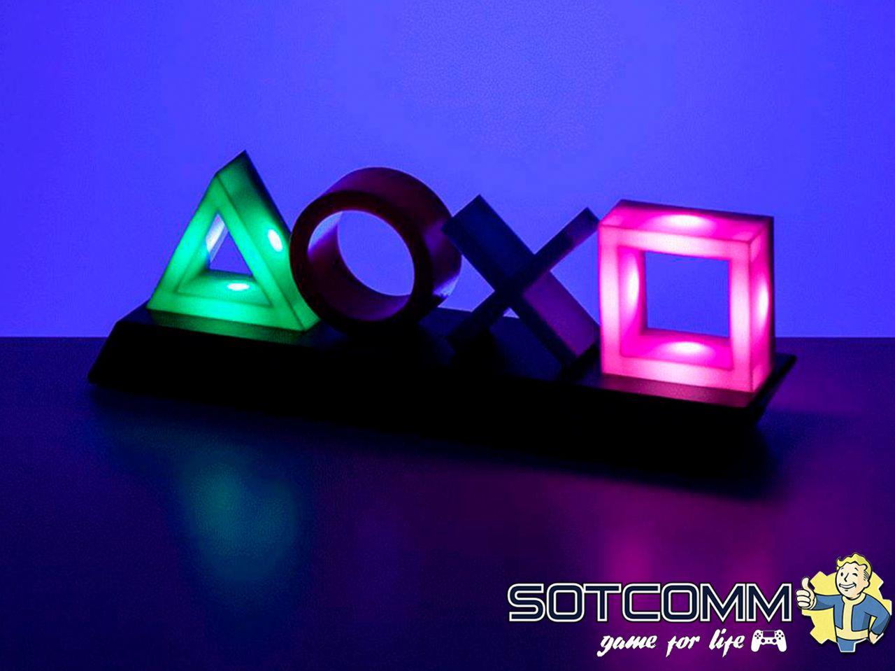 Геймерская лампа The PlayStation: Icons Light в Челябинске