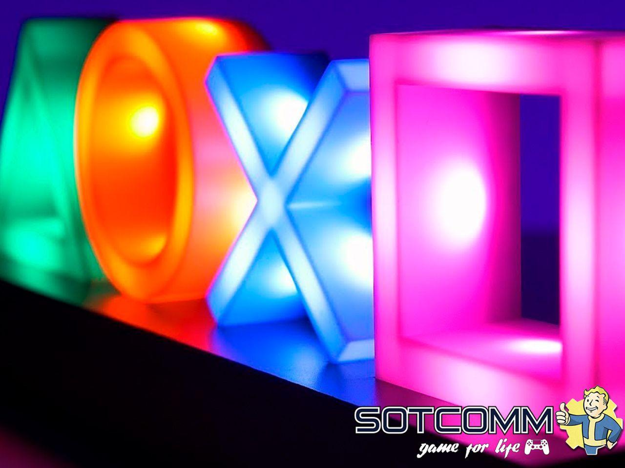 Геймерская лампа The PlayStation: Icons Light характеристики