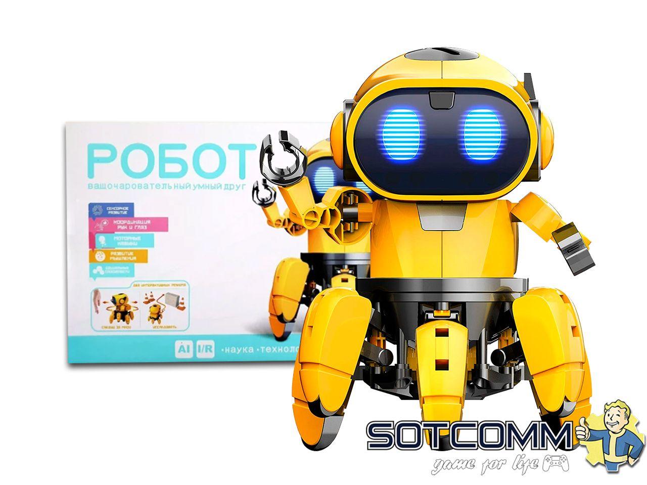 Конструктор интерактивный робот Тобби