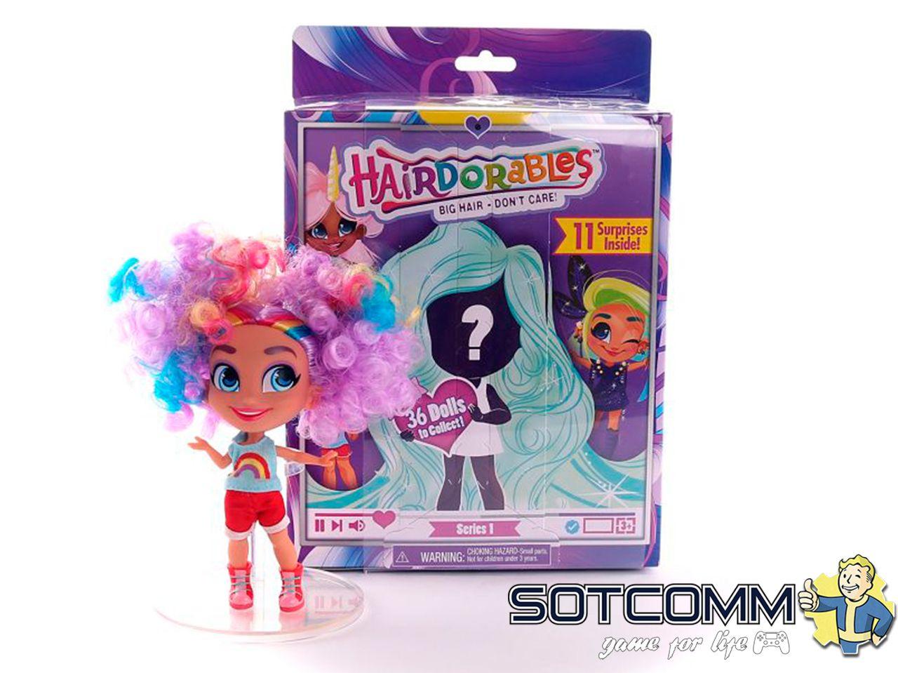 Кукла-сюрприз Hairdorables