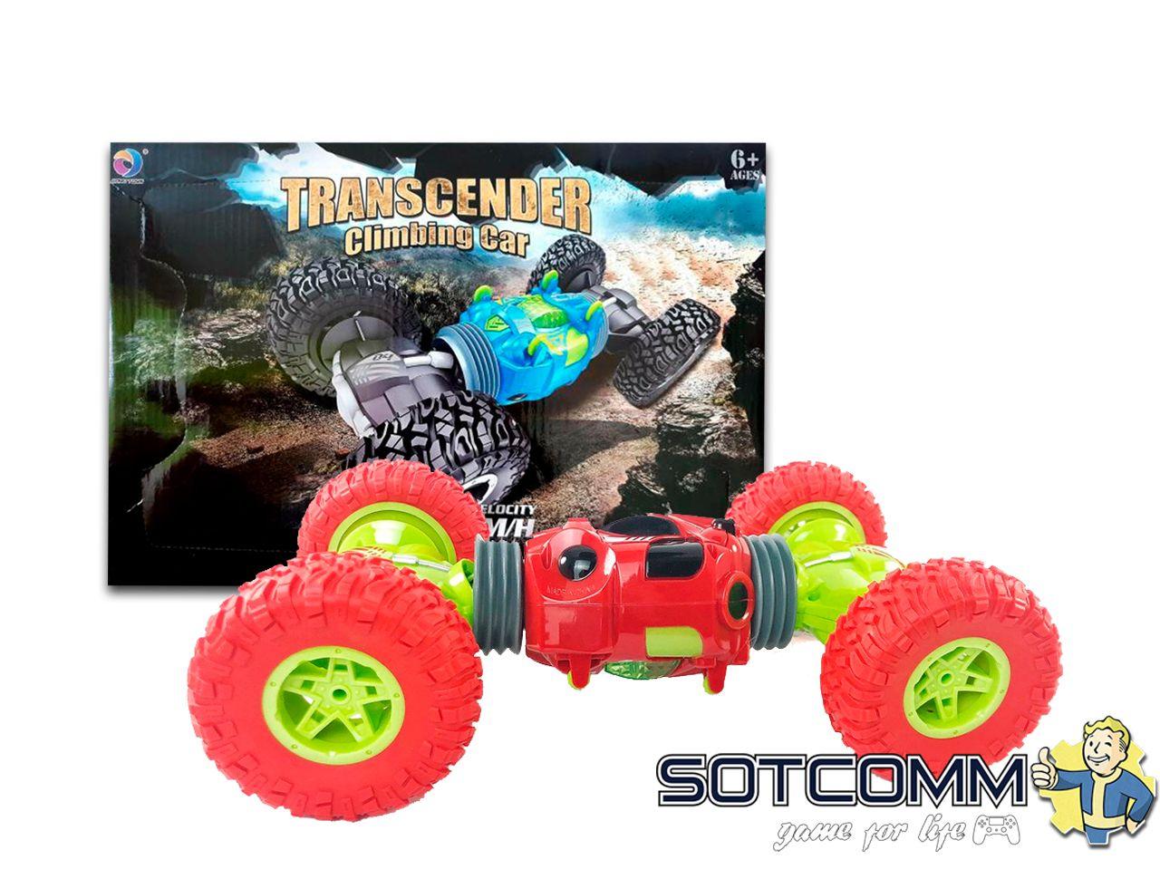 Машинка трансформер-перевертыш на радиоуправлении Transcender