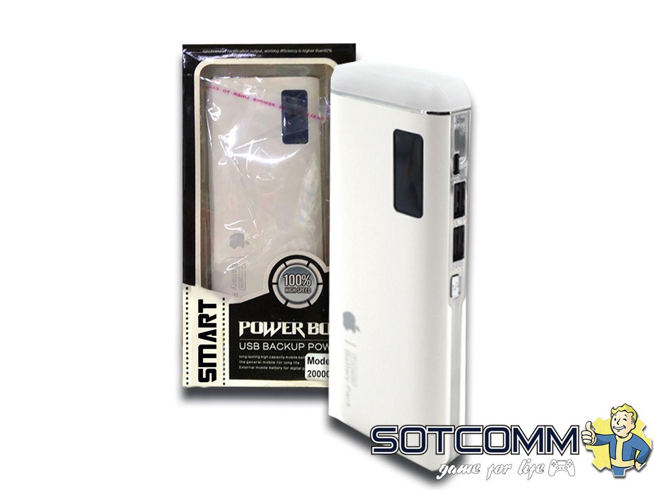 Power Bank W3 20000mAh 2 USB