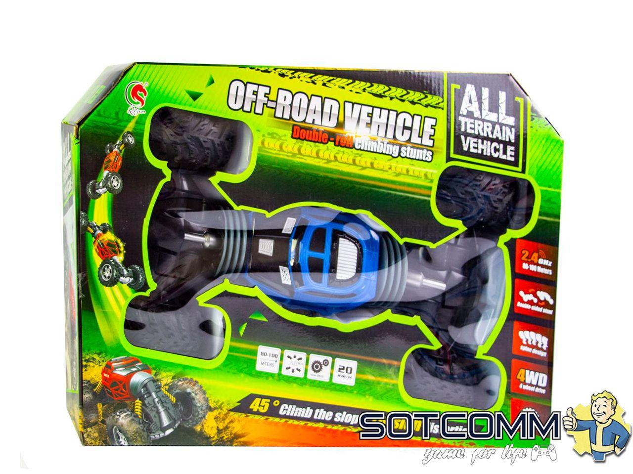 Радиоуправляемый багги вездеход трансформер All terrain vehicle