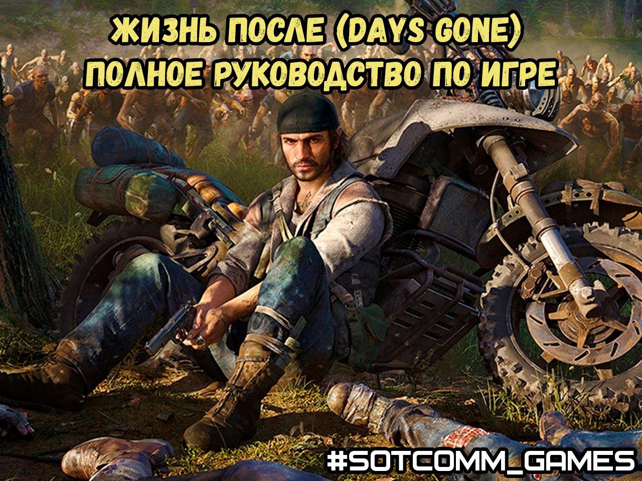 Жизнь после (Days Gone) полное руководство по игре
