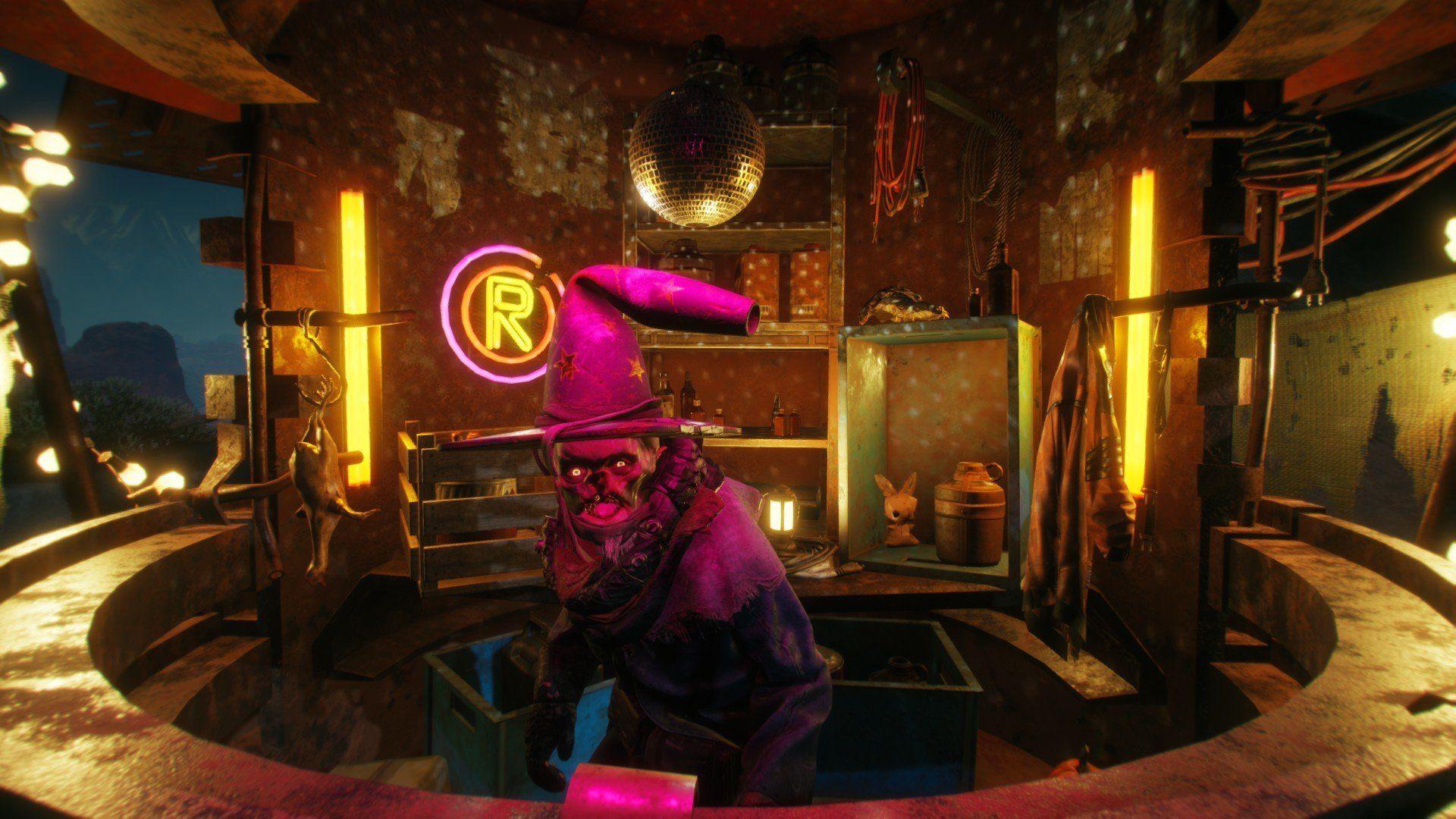 Где найти Волшебника Пустошей (Wasteland Wizard)