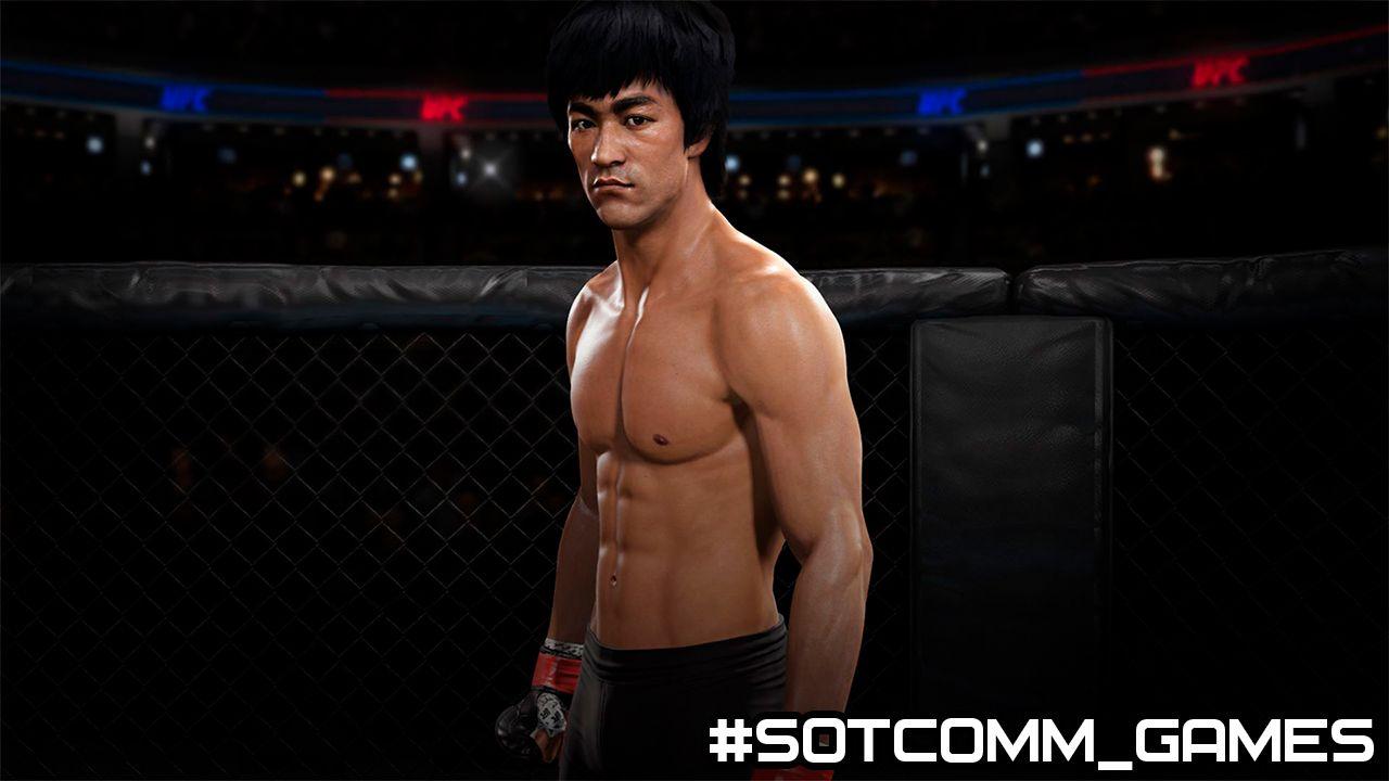 Секретные бойцы EA Sports UFC 3 Читы, секреты, коды, пасхалки. PS4 Xbox One