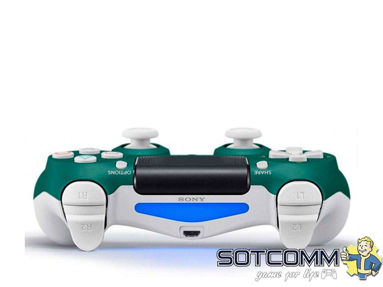 Геймпад PS4 Dualshock 4 v2 Alpine Green (CUH-ZCT2E)