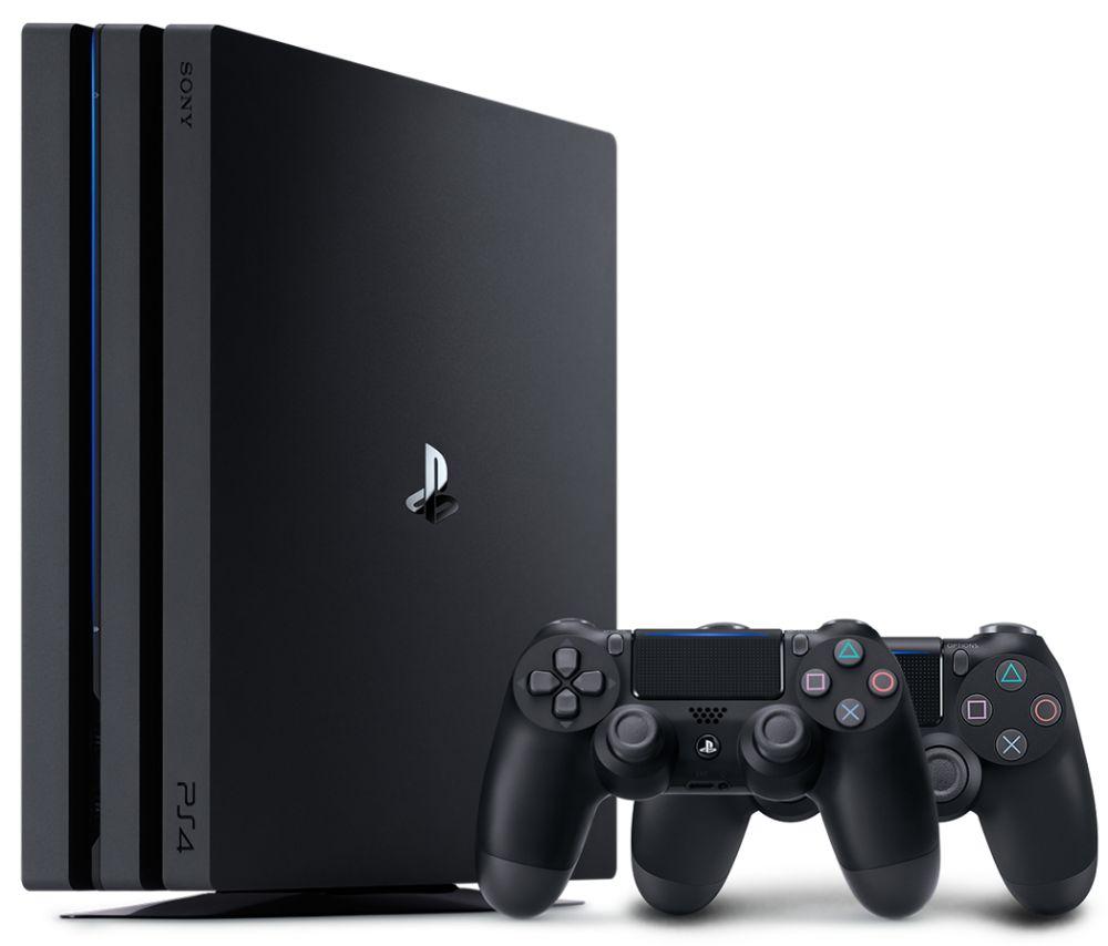 PlayStation 4 PRO 1TB + 2 геймпада