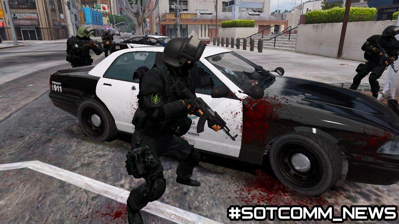 В GTA 5 добавили российский спецназ ФСБ