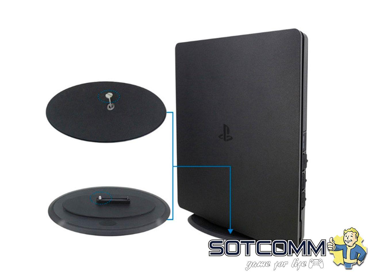 Вертикальная подставка OIVO Stand Vertical Universal 2in1 для PS4 Slim/Pro