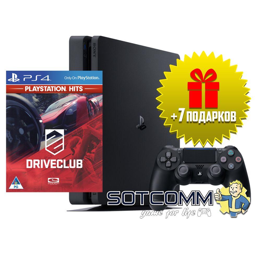 Playstation 4 Slim 500Gb + Driveclub