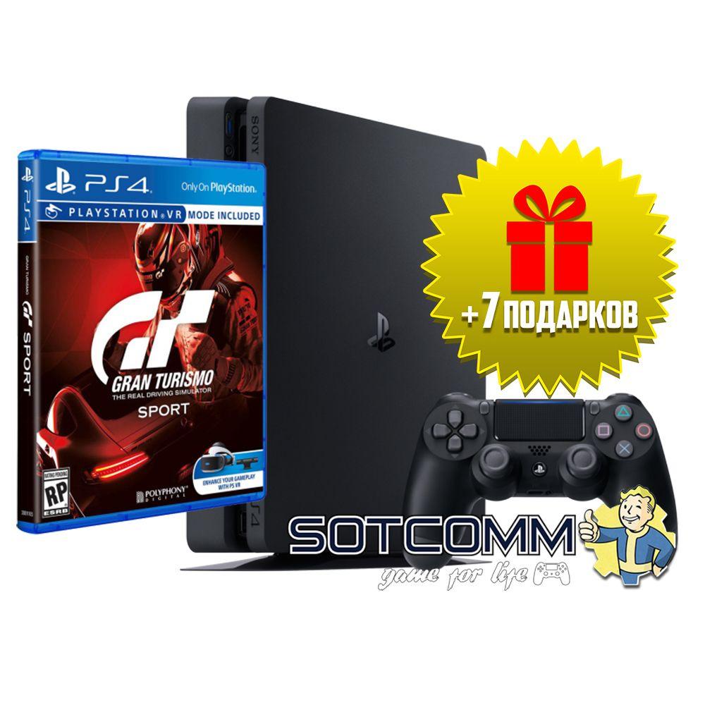 Playstation 4 Slim 500Gb + Gran Turismo: Sport