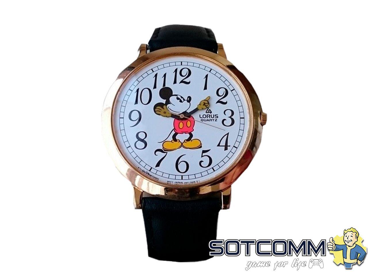 Наручные часы Lorus Mickey Mouse 80х годов