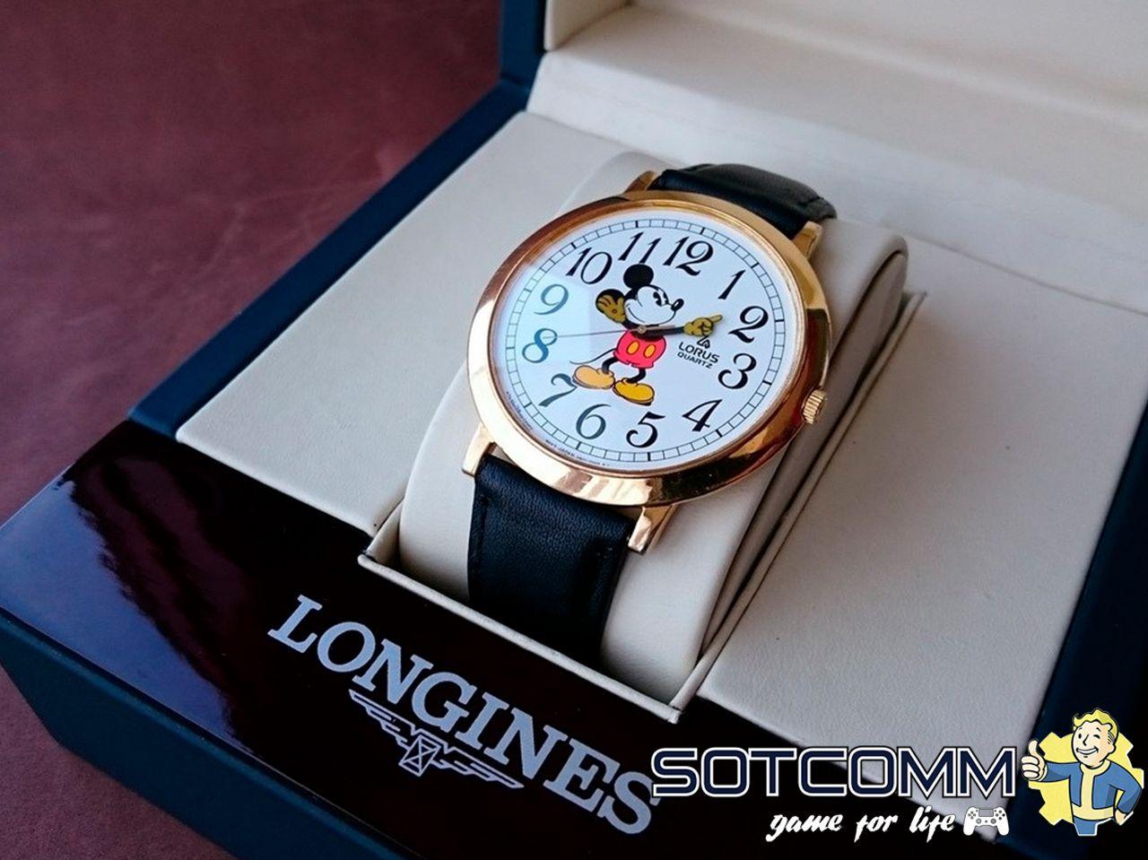 Наручные часы Lorus Mickey Mouse 80