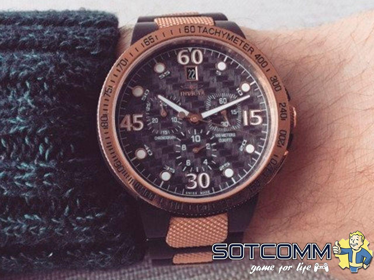 Наручные часы Chronograph Invicta 3757