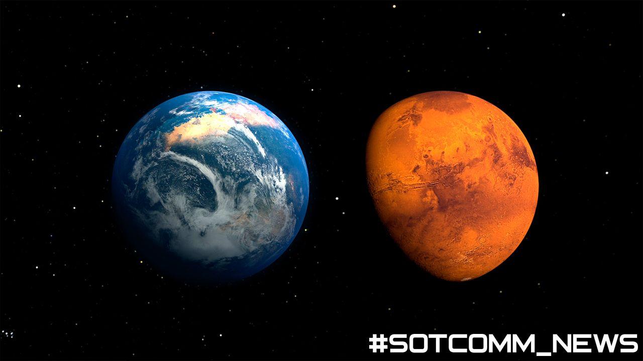 NASA нашли следы живых существ на марсе