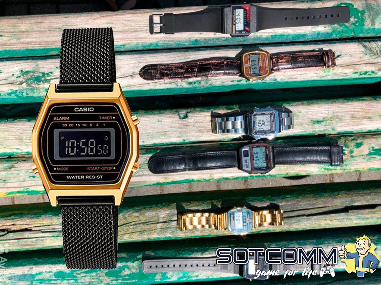 Редкие коллекционные часы Casio и Электроника из 80-х