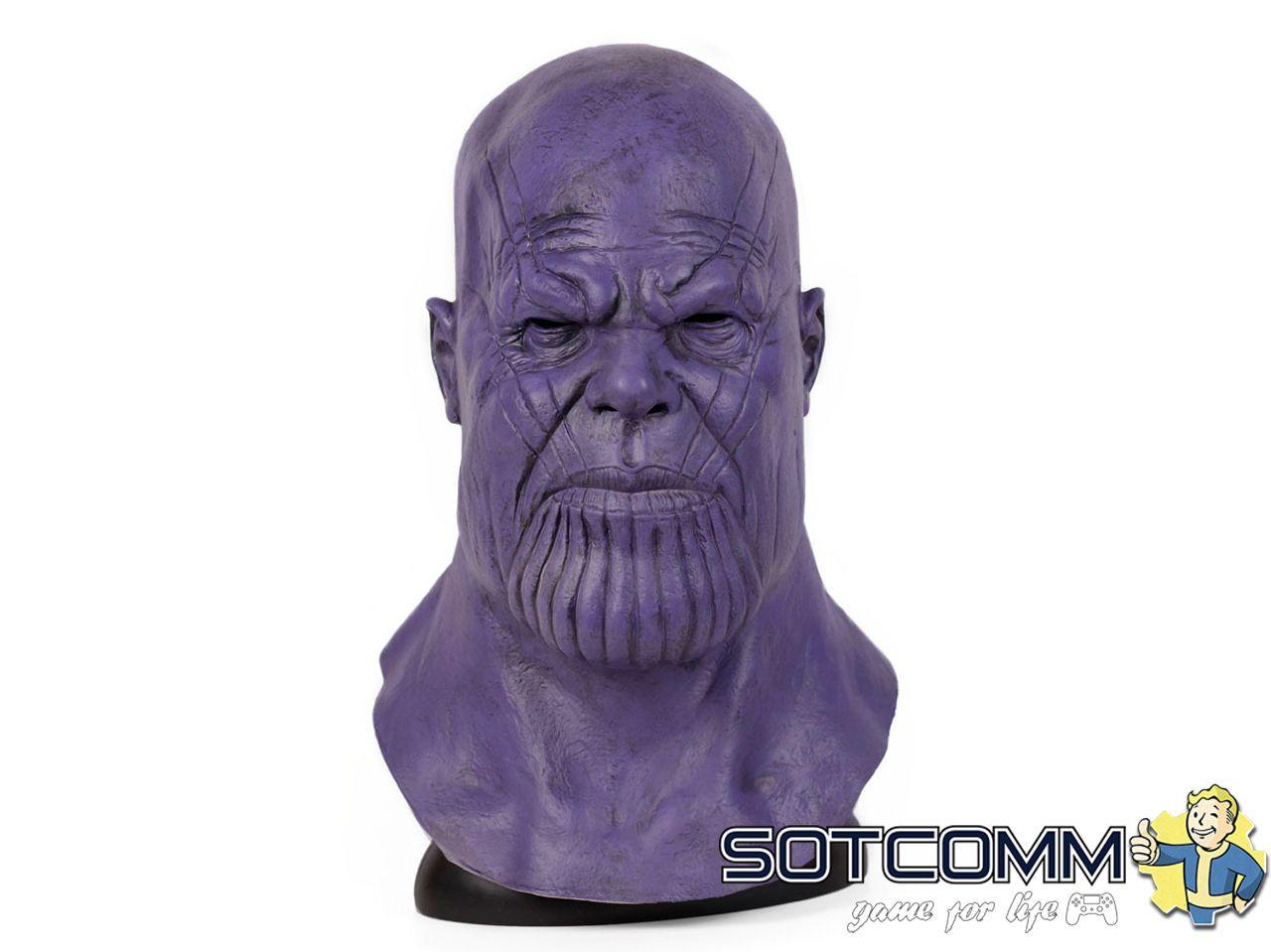 Латексная маска «Танос»