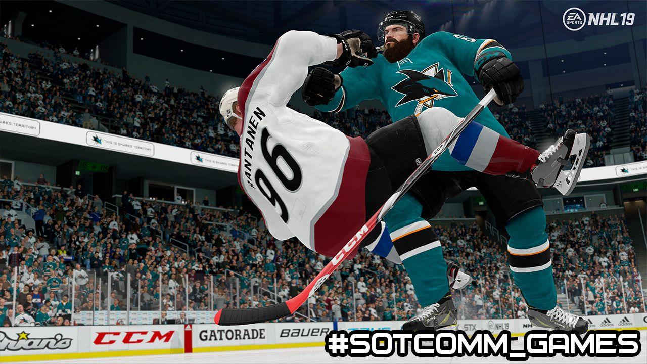 Как начать драться в NHL 19