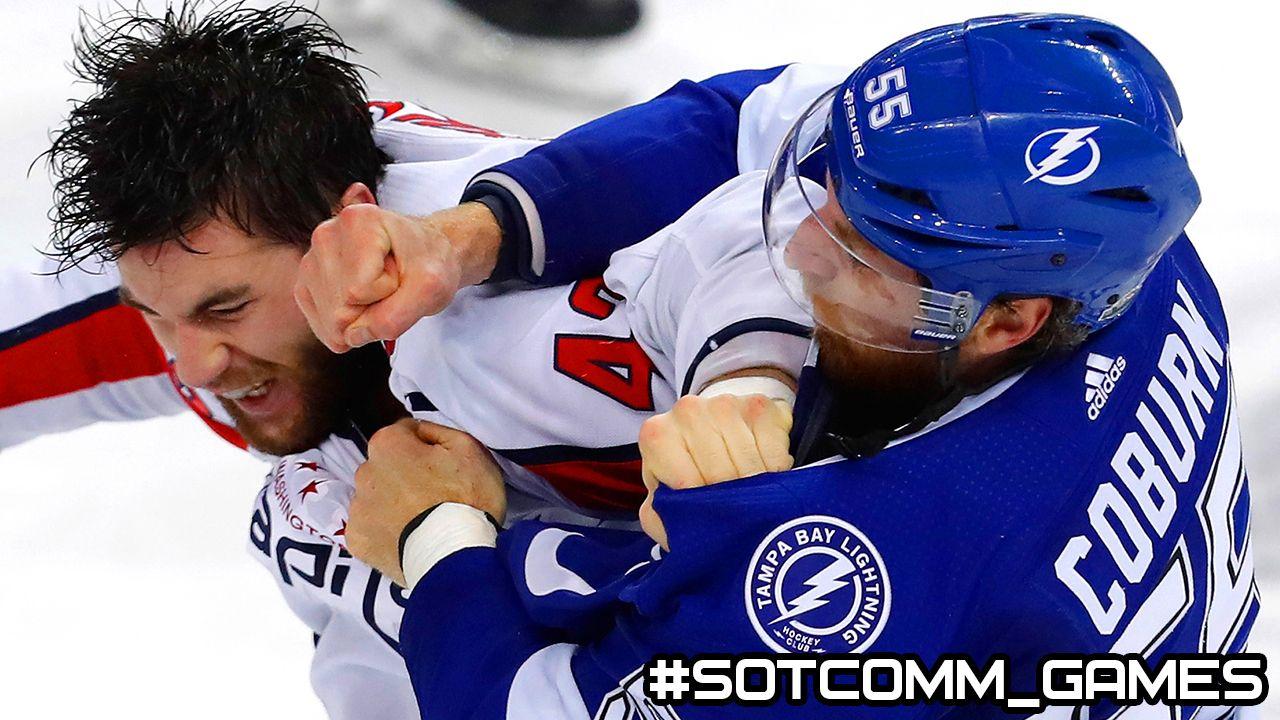 Как выиграть бой в NHL 19?
