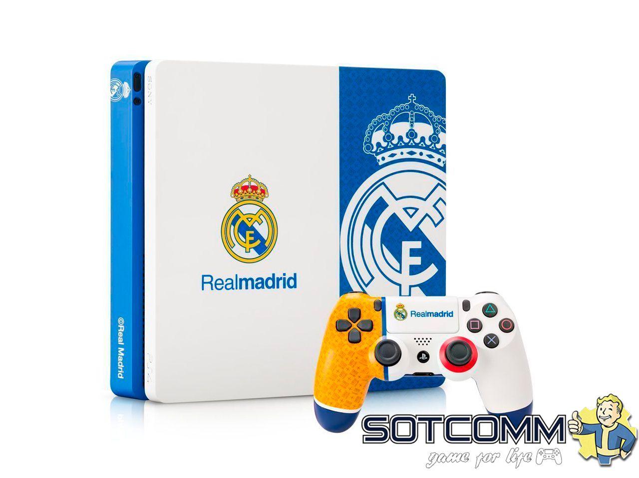 Playstation 4 Slim 1TB ФК Реал Мадрид