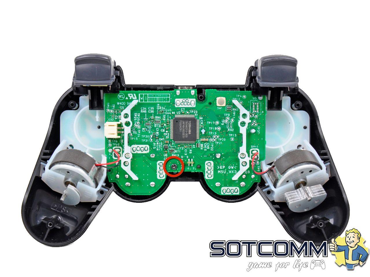 Профессиональный ремонт геймпадов PlayStation 3