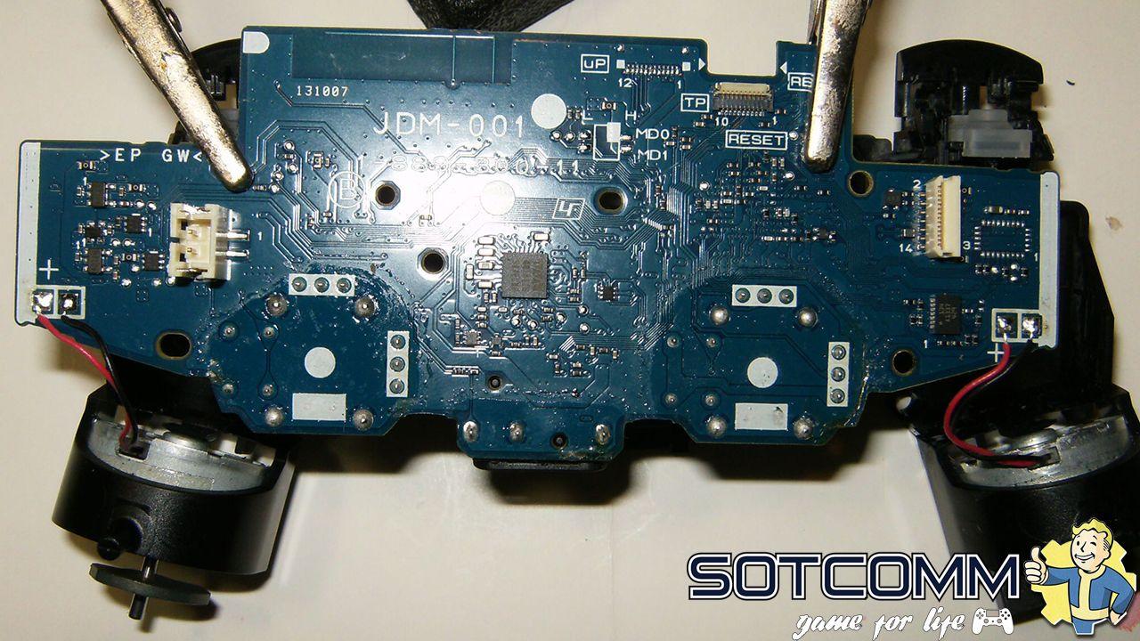 Профессиональный ремонт геймпадов PlayStation 4 в Челябинске
