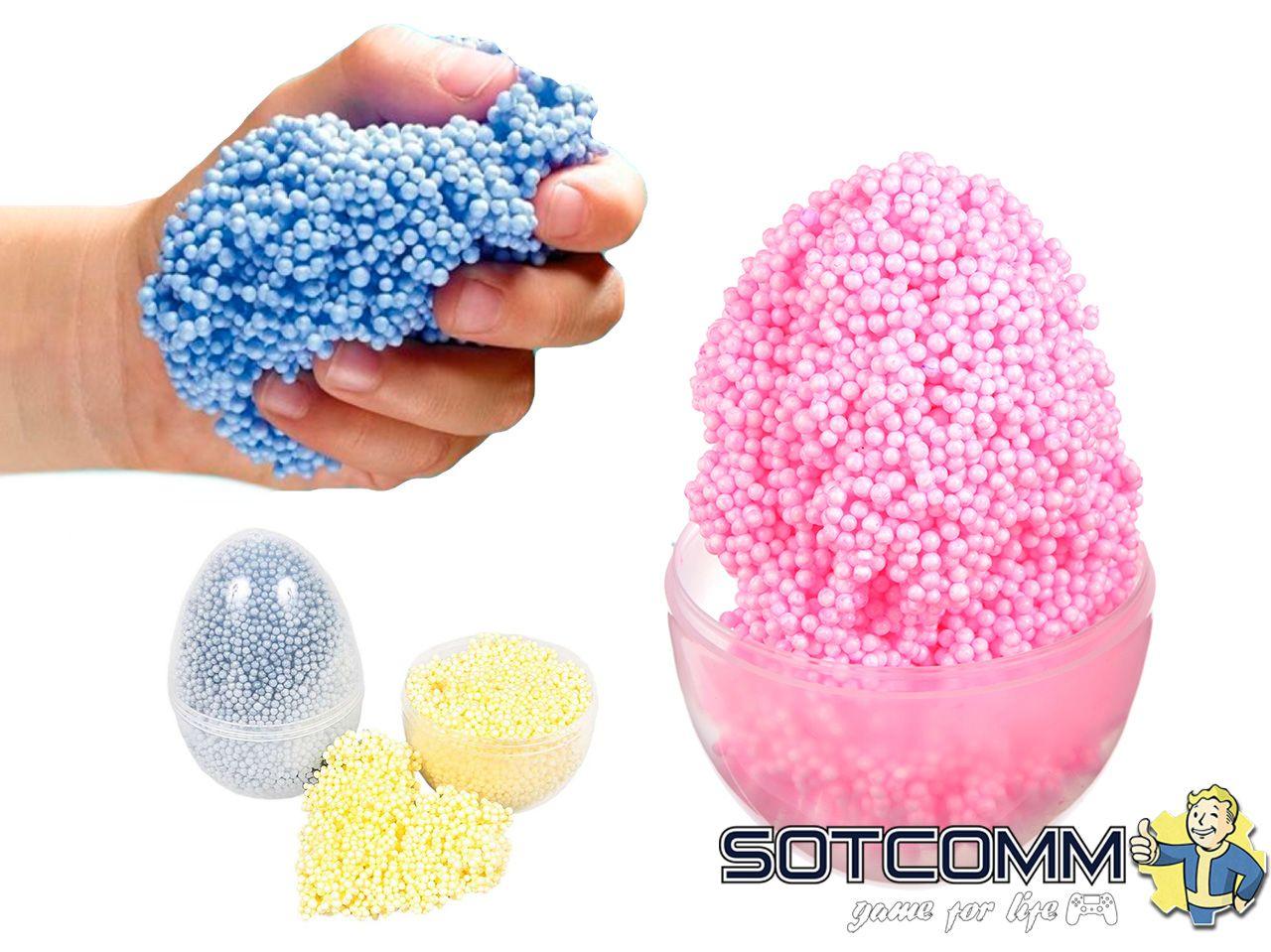 Шариковый пластилин Foam Putty