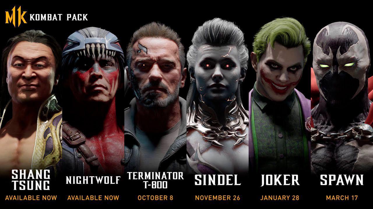 В сеть слили всех будущих персонажей Mortal Kombat 11