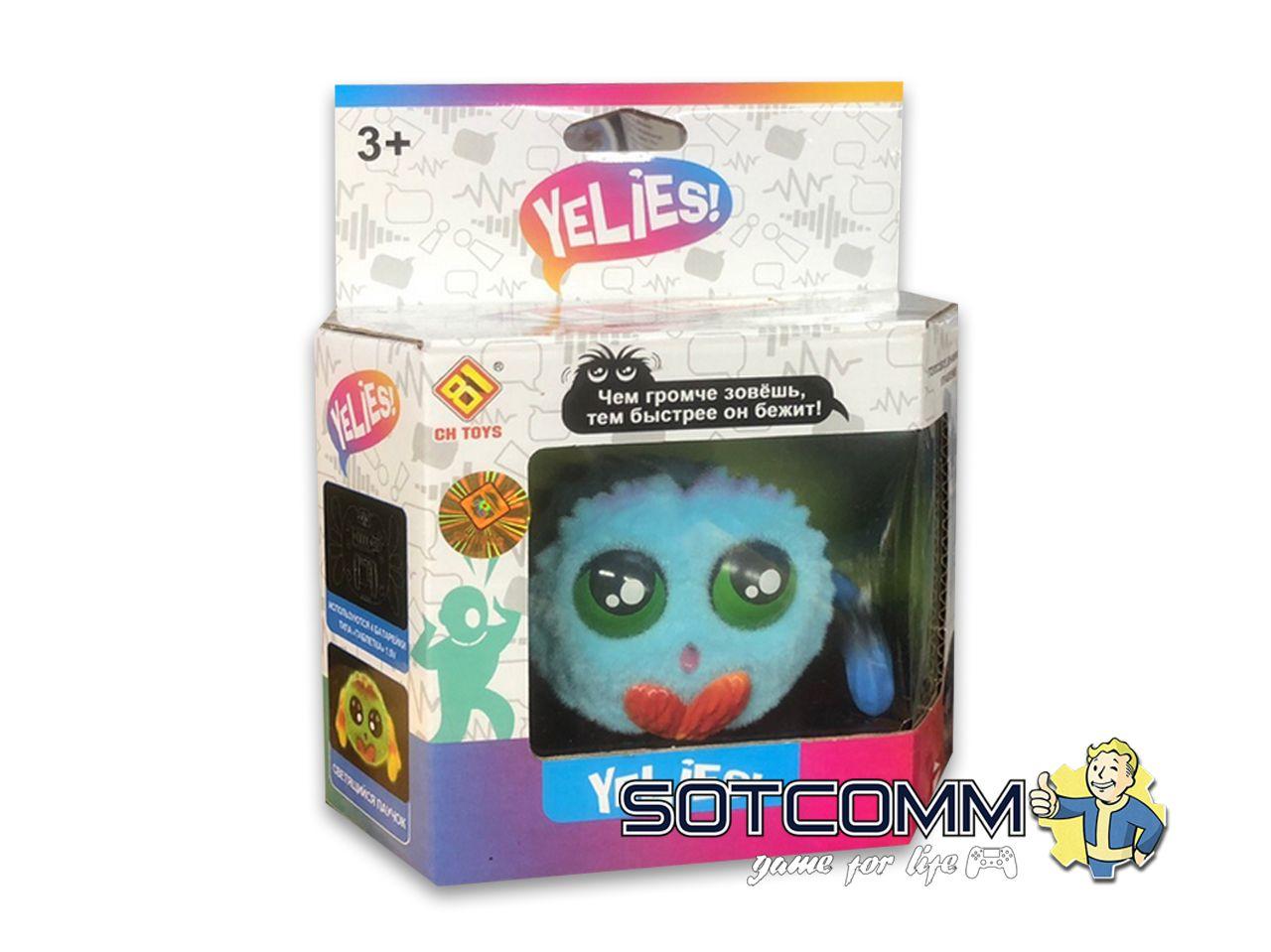 Интерактивный паучок Yellies!