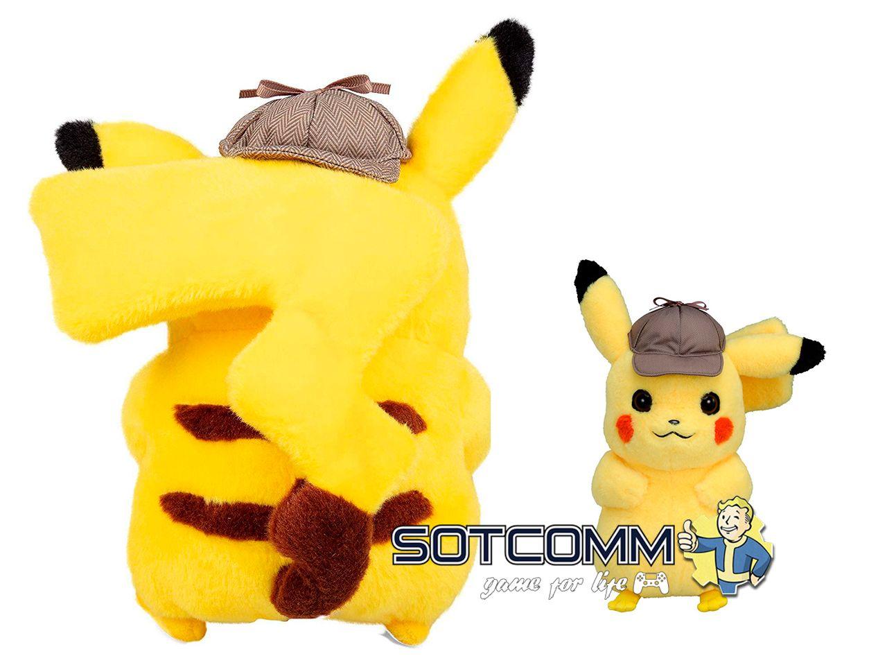 Мягкая игрушка Detectiv Pikachu Пикачу детектив в Челябинске
