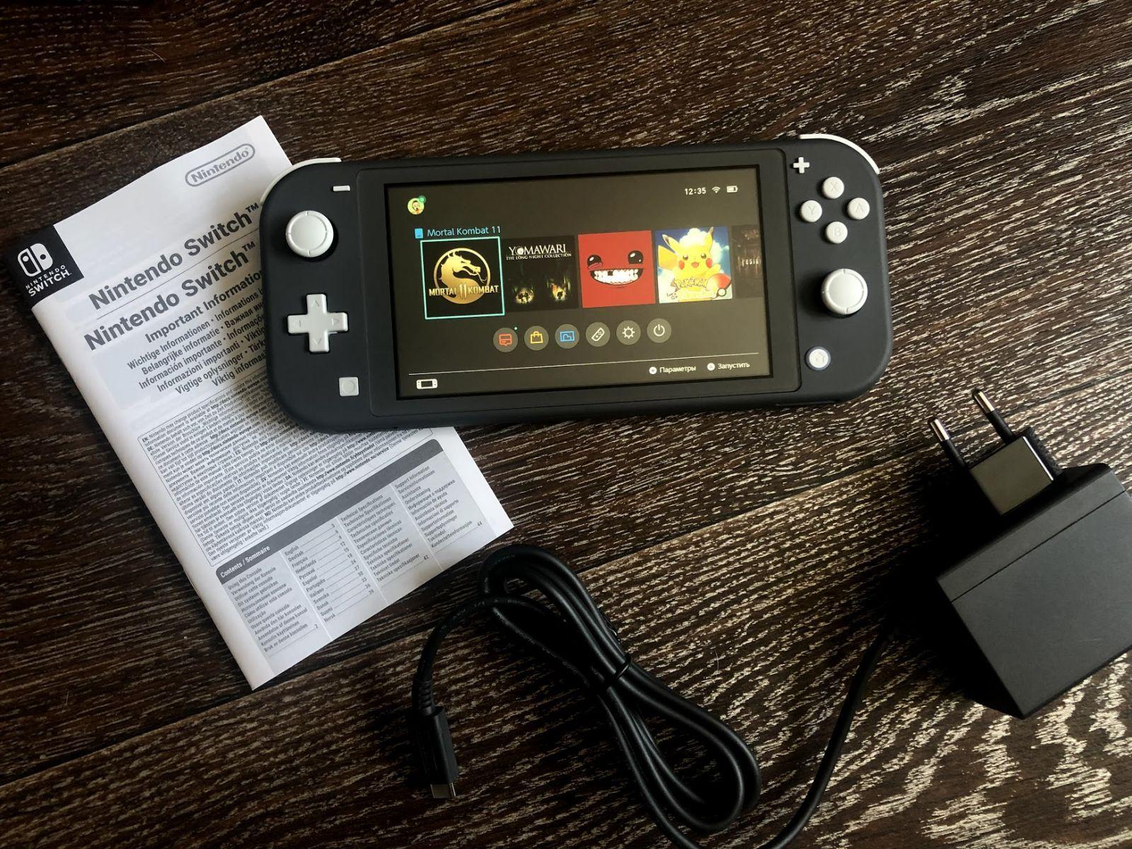 Обзор Nintendo Switch Lite - стоит ли покупать?