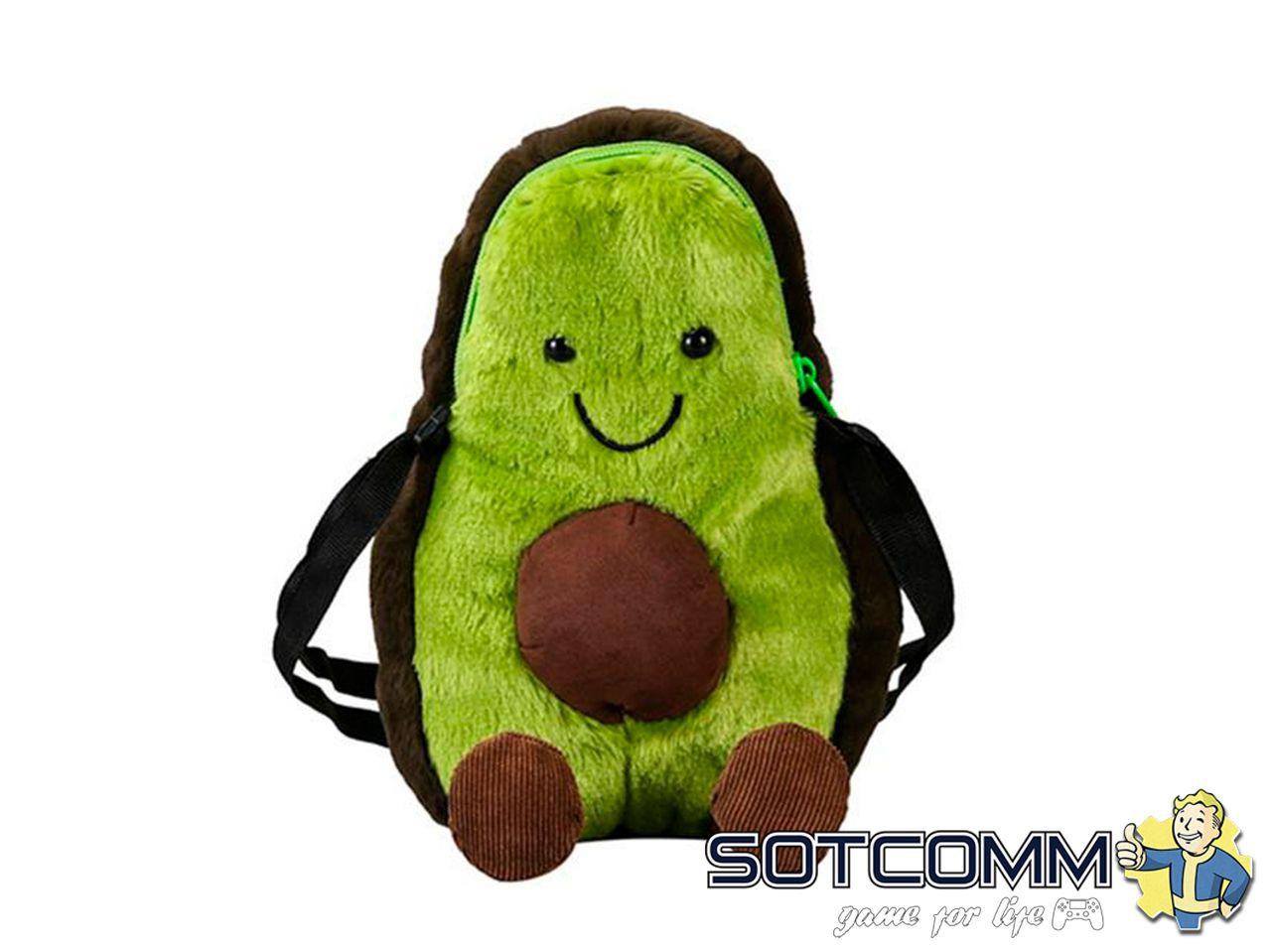 Плюшевый авокадо мини сумка