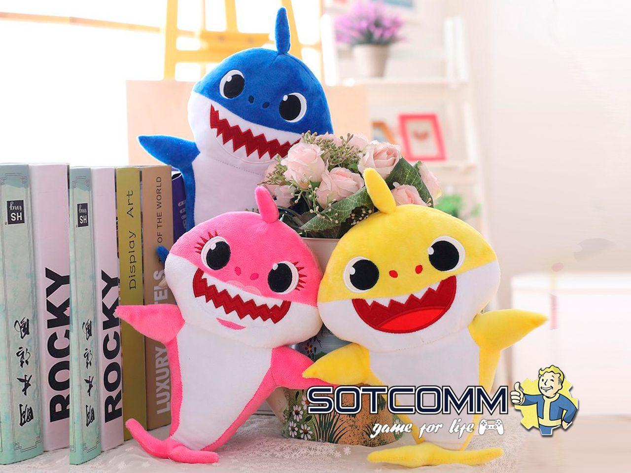 Поющая Акула Pinkfong Пинкфонг Baby Shark