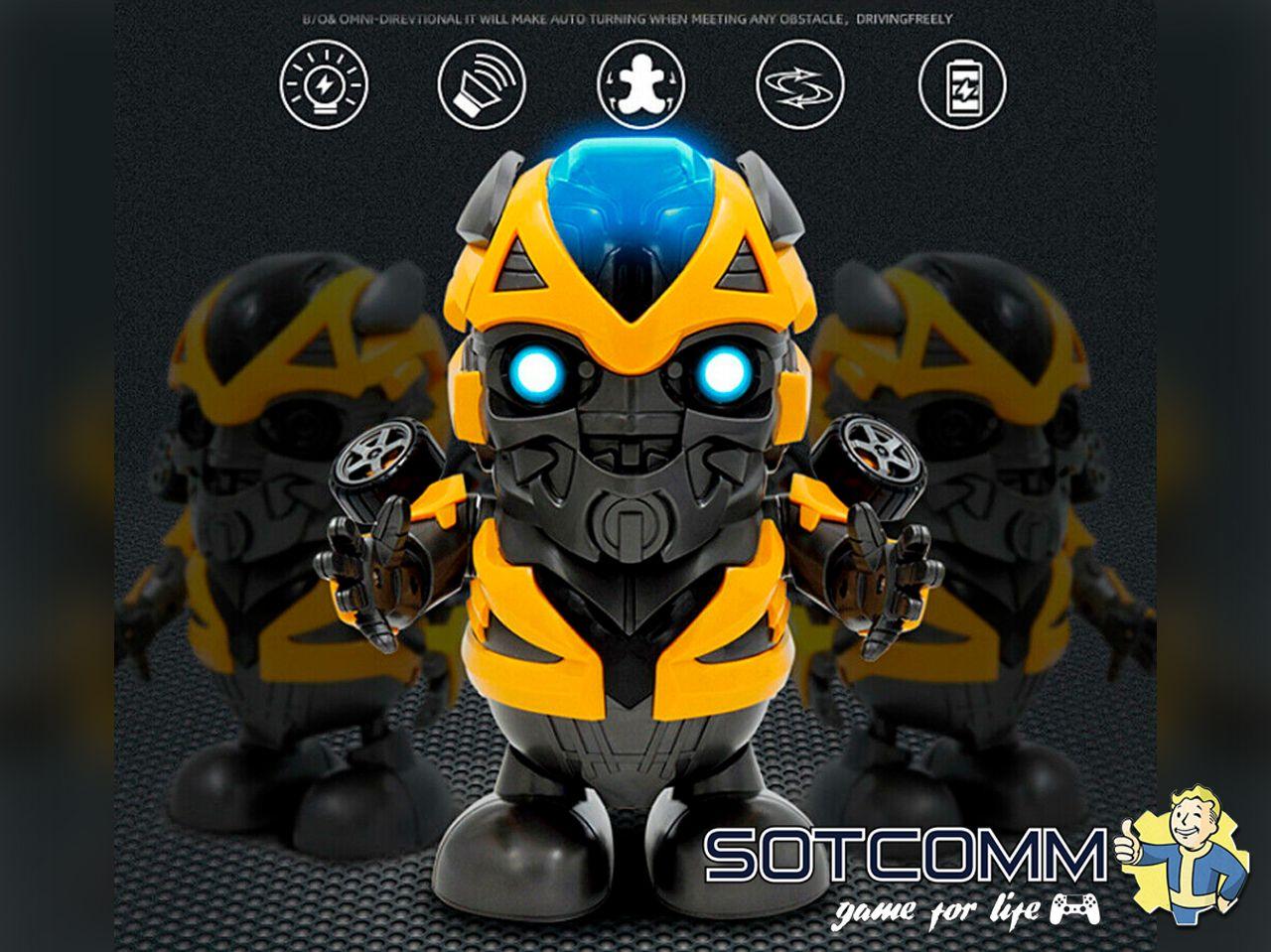 Dance Hero - Bumblebee (Бамблби) танцующий трансформер