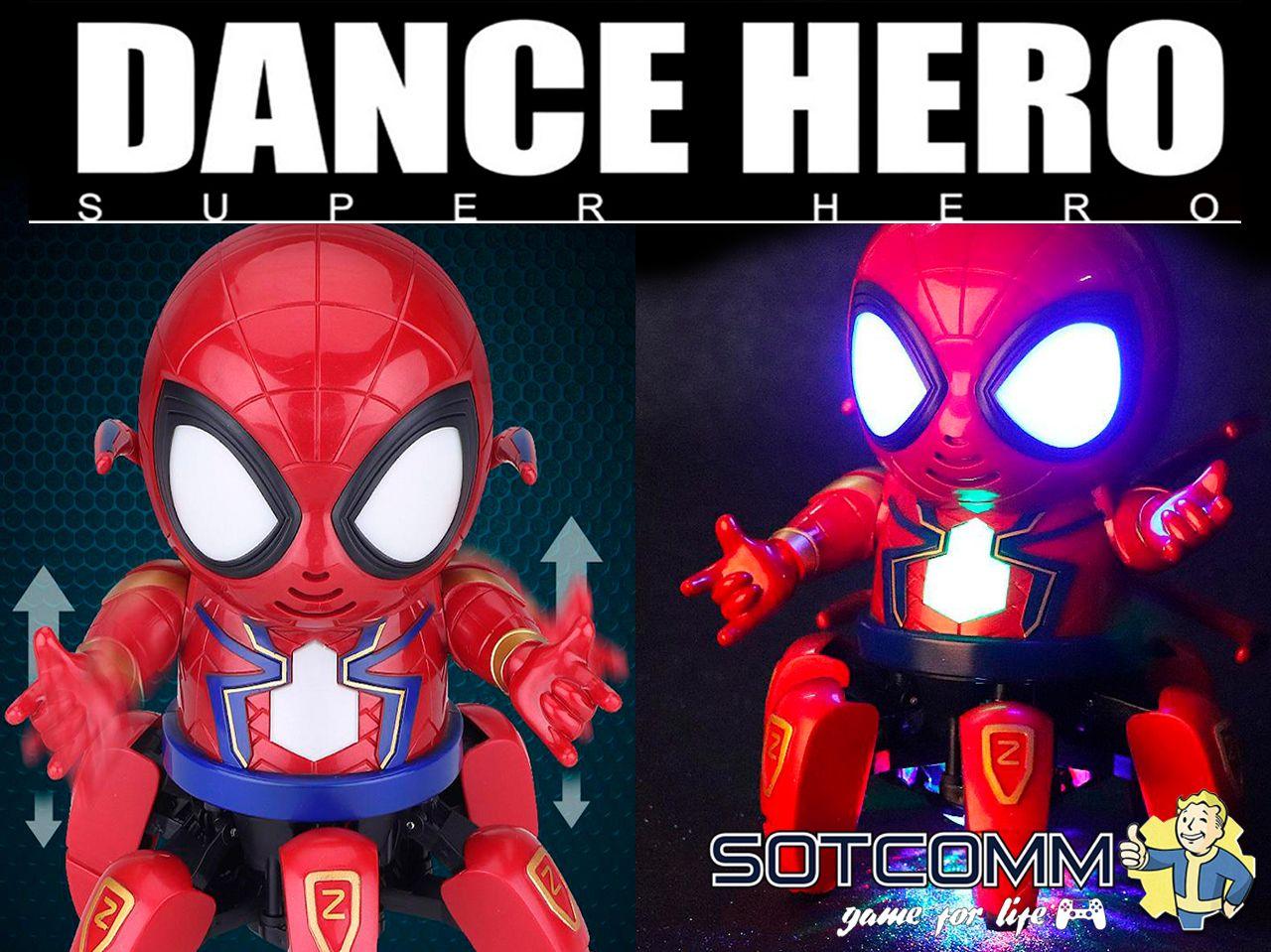 Dance Hero — Iron Spider Man (Железный Человек Паук)