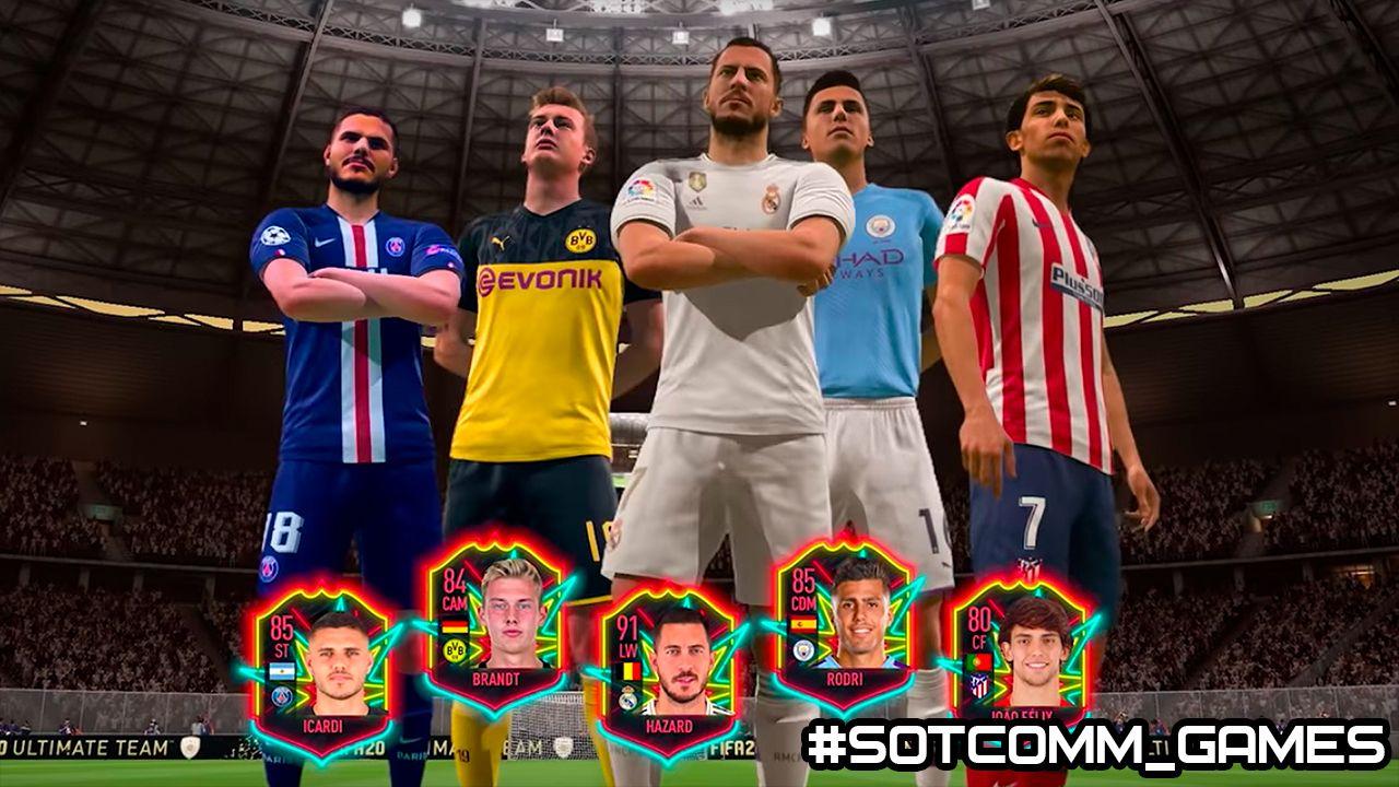 FIFA 20 VOLTA — создайте лучшую команду, советы как выиграть.