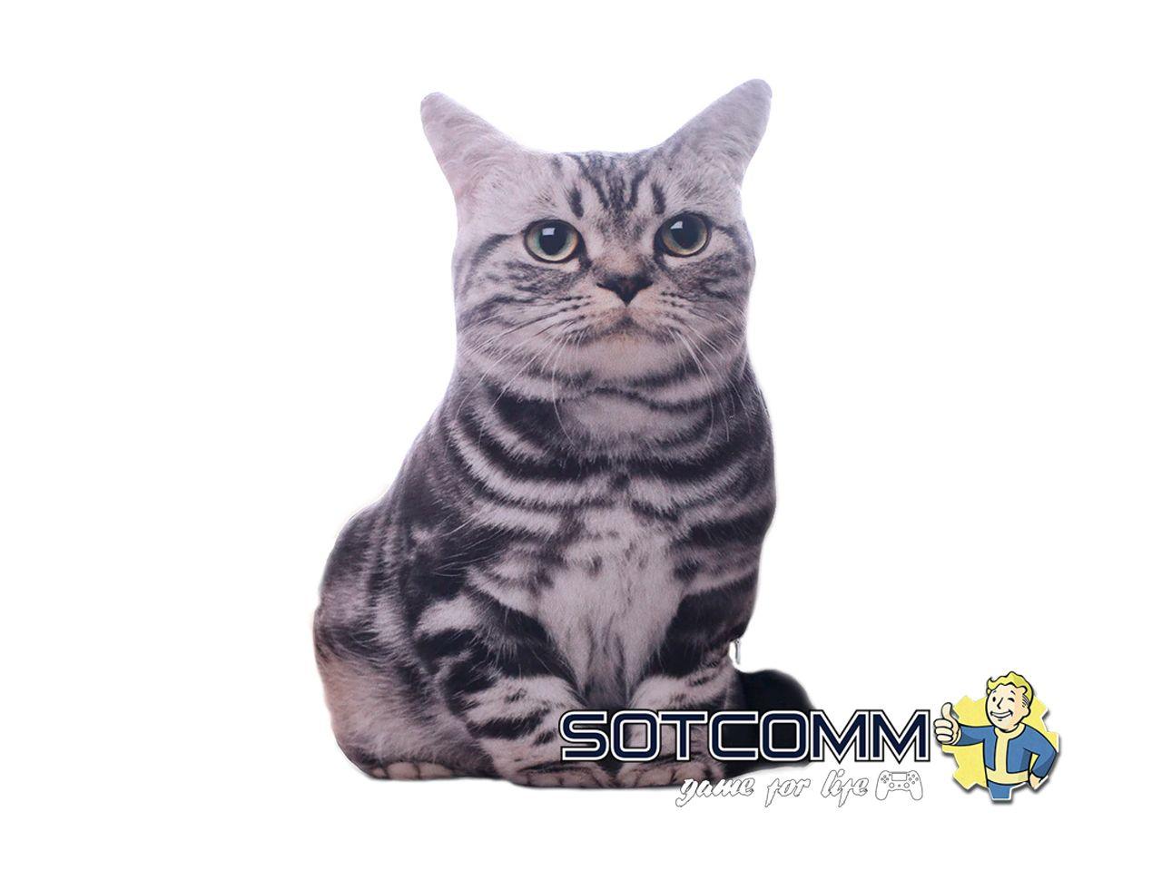 Подушка-игрушка 3D Котик