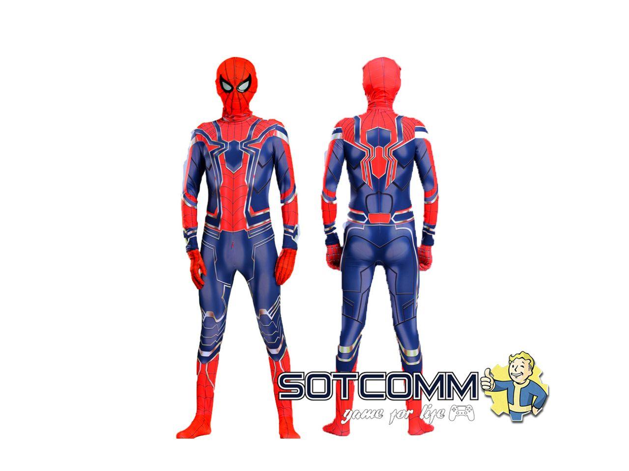 Детский костюм Железный Человек Паук Мстители