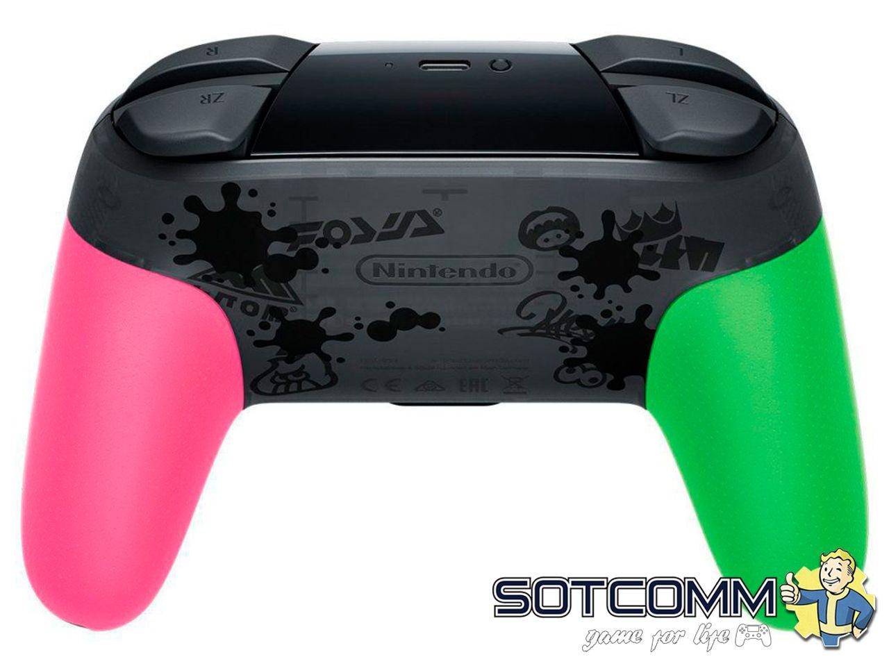 Геймпад для Switch Nintendo Pro контроллер Splatoon 2